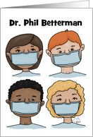 Customizable National Doctors' Day, Name Specific, Diverse Doctors card