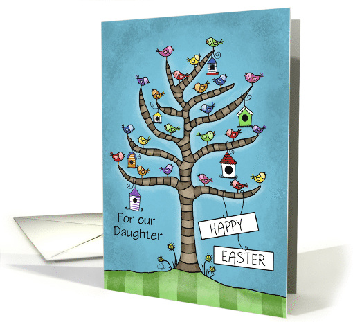 Customizable Happy Easter Daughter Tree Blooms with... (1677908)