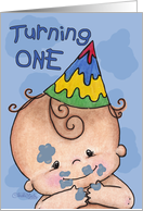 1st birthday cards from greeting card universe first birthday for boy card m4hsunfo