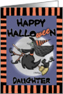 Happy Halloween to daughter -Witch Says Wee card