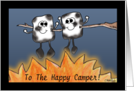 Thinking of You at Summer Camp- Toasted Marshmallows card