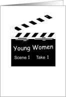 YW Clapboard Welcome Card