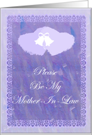 Be My Mother In Law Card