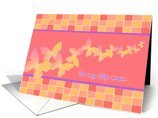 Step Mom All-Occasion Card Butterfly Fantasy card (155248)