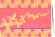 Step Mom All-Occasion Card Butterfly Fantasy card