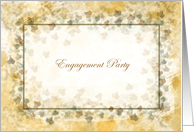 Engagement Party Invitations Soft Expressions card