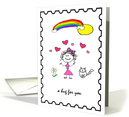 Friendship Hug card (214763)