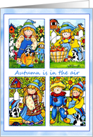 Happy Autumn Note Cards