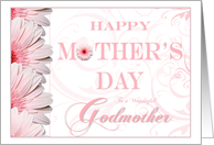 Pink Fantasy Godmother Happy Mothers Day Cards Paper Greeting Cards