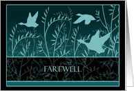 Farewell Goodbye Cards Mallards Paper Greeting Cards
