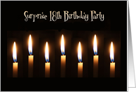Surprise 18th Birthday Party Invitations Paper Greeting Cards
