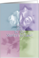 Will You Be My Mother In Law? - Blank Inside card
