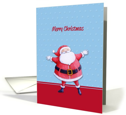 Santa Claus blue card (723134)