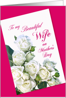 Mother's Day - Wife card