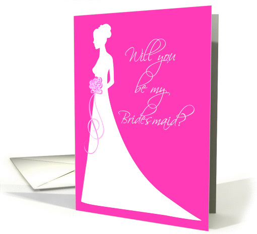 Will You Be My Bridesmaid? card (207663)