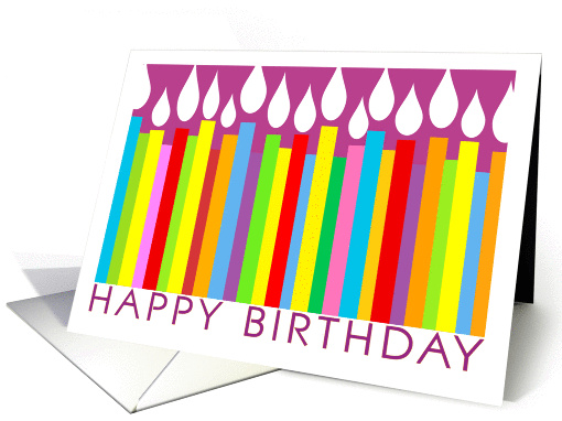 Happy Birthday card (210174)
