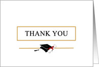 Graduation Thank You Card - Blank card