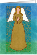 Angel Mosaic card