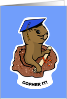 Gopher it, Graduate! card
