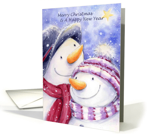 Christmas and New year card (251065)