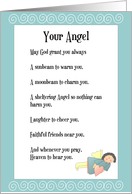 Your Angel card