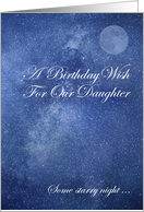 Birthday Wish For Daughter card