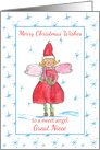 Merry Christmas Sweet Angel Great Niece card