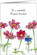Happy Administrative Professionals Day Personal Assistant card