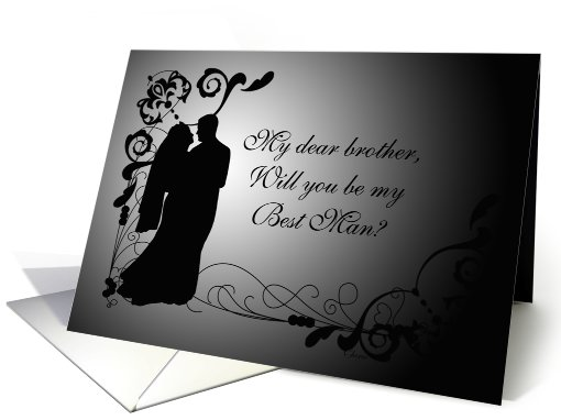 Brother, Will You Be My Best Man? card (549309)