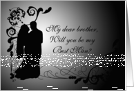 Brother, Will You Be My Best Man? card