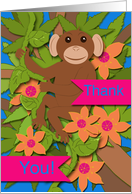 Thank You! For School Janitor card