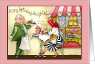 Happy Birthday, Daughter....Tea and Chocolates! card