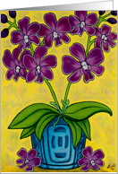 Orchid Delight card