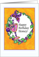 Happy Birthday Homey! card