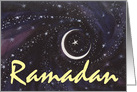 Ramadan New Moon card