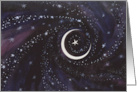 New Moon & Stars- Ramadan card