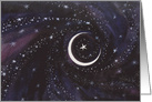 Eid Mubarak New Moon card