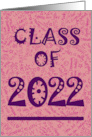 Daughter 2020 Grad Announcement - Pink card