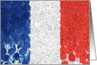 Bastille Day Bleu Blanc Rouge card