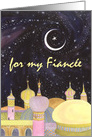 Eid al Fitr, Fiancee, Arabian Night card