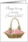 Basket - Jr. Flower Girl? card
