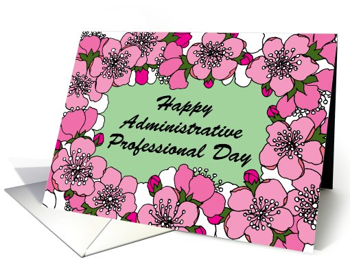Blossom, Administrative Professional Day card (599612)