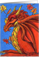 Red Dragon of Autumn card