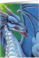 Blue Dragon of Winter card