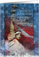 Belief in Freedom, 4th of July Card