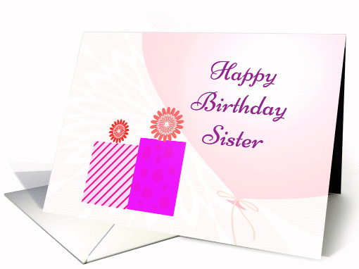 Birthday Wishes Sister card (1148376)