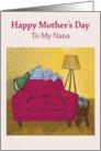 Mother's Day Serenity - Nana card