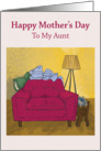 Mother's Day Serenity - Aunt card