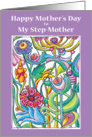 Mother's Day Garden Bouquet - Step-Mother card