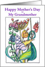 Mother's Day Blooming Bounty - Grandmother card
